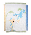 Monkey Business Appliqu Blanket