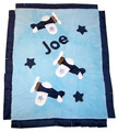 Airplane Appliqué Blanket
