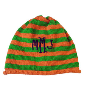 Carrot Patch Knit Hat (Monogrammed)