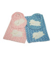Bib and Burp Cloth Appliqué set