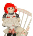 Raggedy Ann Doll (Navy Plaid)