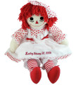 Raggedy Ann Doll (Red Polka Dot)