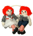 Raggedy Ann & Andy Dolls (Plaid)