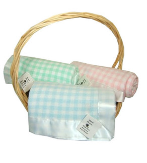 Walcot Weavers Baby Check Blanket