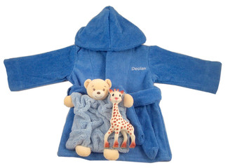 Bathrobe Gift set with Kaloo and Sophie