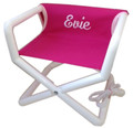 Jr Director Chair Pink Canvas