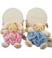 Soft Plume Rabbits, Bears and Cats for Twins