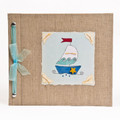 Sailboat Baby Memory Book