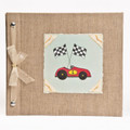 Race Car Baby Memory Book