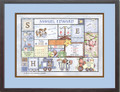 Patchwork Personalized Birth Certificate