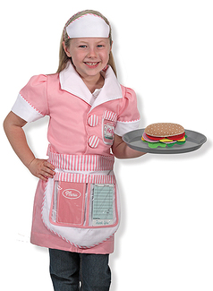 Waitress Role Play Costume