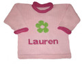 Personalized Daisy Sweater