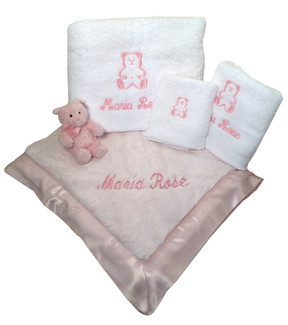 Personalized Luxury Baby Gift Set