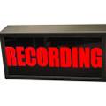 Sandies Model 340 RECORDING Warning Light - 12vdc