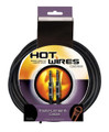 Hot Wires QTR to QTR Instrument Cable - 25 Feet
