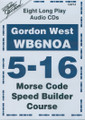 Morse Code Speed Builder 5-16 wpm
