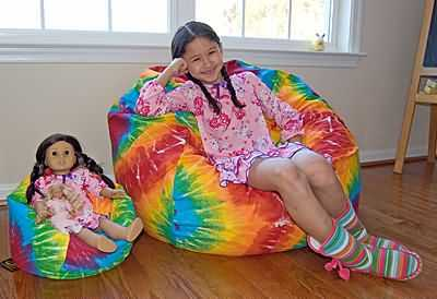 Tie Dye 37 inch for Girls and 14 inch for Dolls
