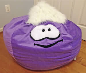 Puffle Bean Bag Chair Custom Made By Ahh Products