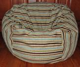 SALE! Chenille Stripes-Coastal Cotton Blend
