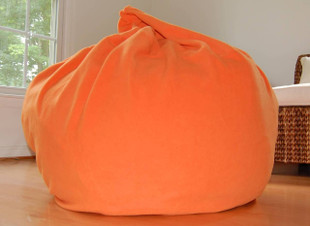"37"" Wide Orange Fleece"