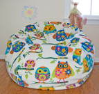 "37"" Pretty Owls Fleece"
