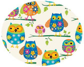 Close Up Pretty Owls