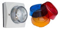 ALGO 1128PABR Analog LED Strobe Light; Amber-Blue-Red Kit, Part No# 1128PABR