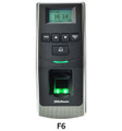 ZKACCESS F6 Standalone Biometric Reader Controller, Part No# F6