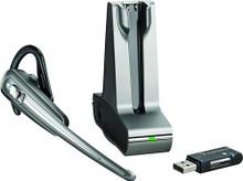 PLANTRONICS WG101/B SAVI GO Bluetooth Headset with Base, Part No# 38635-01