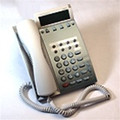 NEC DTP-8D-1 - 8 Button Display White Telephone (Part# 590020 ) Factory Refurbished