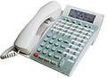 NEC DTP-32D-1 (WH) TEL / Neax Dterm E ~ 32 Button Display Telephone WHITE (Part# 590060) Refurbished