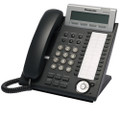 Panasonic 24 Button 3-Line Backlit LCD Display Digital Telephone, Color Black  Part# KX-DT343-B  NEW
