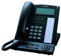 Panasonic KX-T7636 24 Button Back-lit Display LCD Proprietary Speakerphone Black, Part# KX-T7636-B NEW