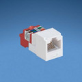 Panduit  Mini-Com Module, Cat 5e, UTP, 8 pos 8 wire, Universal, White, T Style ~ Package of 50 ~ Part# CJ5E88TWH ~ NEW