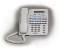 TADIRAN / Sprint  Deluxe 28 Button Digital LCD Speaker Phone - White  - Part# 72420946800 -  NEW