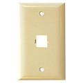 Suttle 1 Port Faceplate, Oversized, Smooth Finish Part# 2-2501M-XX