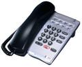 DTR-1HM-1 / SINGLE LINE HOTEL/MOTEL TELEPHONE Black (Part # 780025) REFURBISHED