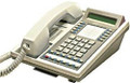TIE Onyx Nitsuko DS01 16 Button Phone with LCD Display White (Part# 88663 ) Refurbished
