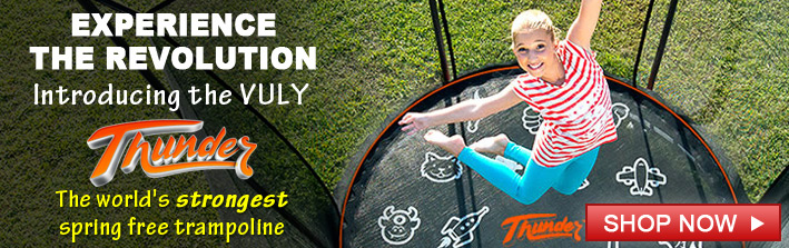 Introducing the Vuly Thunder Trampoline.