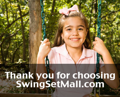 Thank you for shopping at SwingSetMall.com!