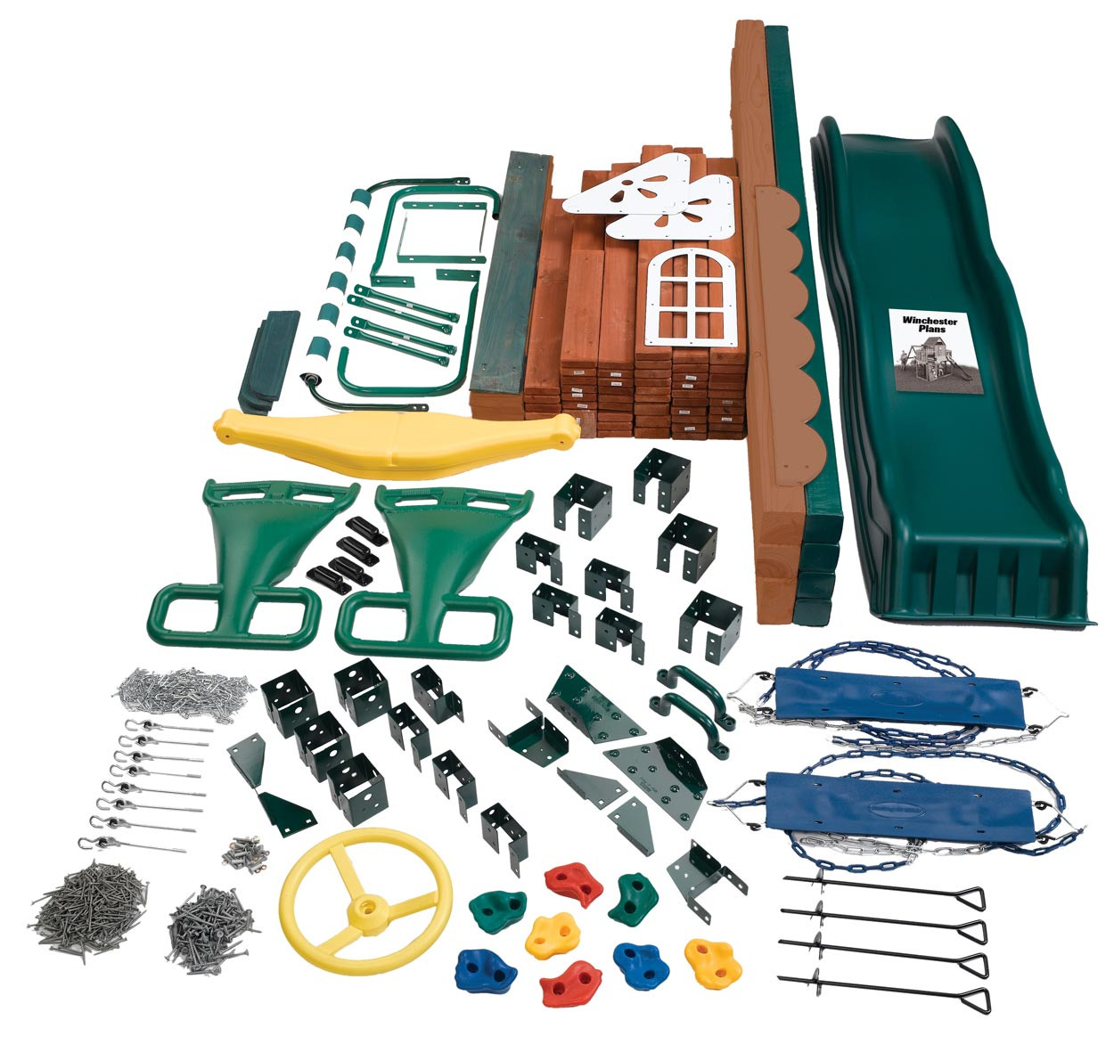 Winchester Swing Set Kit Contents
