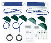 Pioneer Swing Set Kit Contents