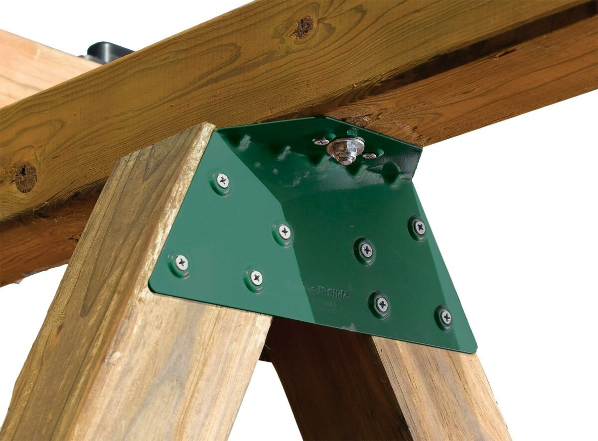 Ez frame bracket pair for How to build a metal swing set frame