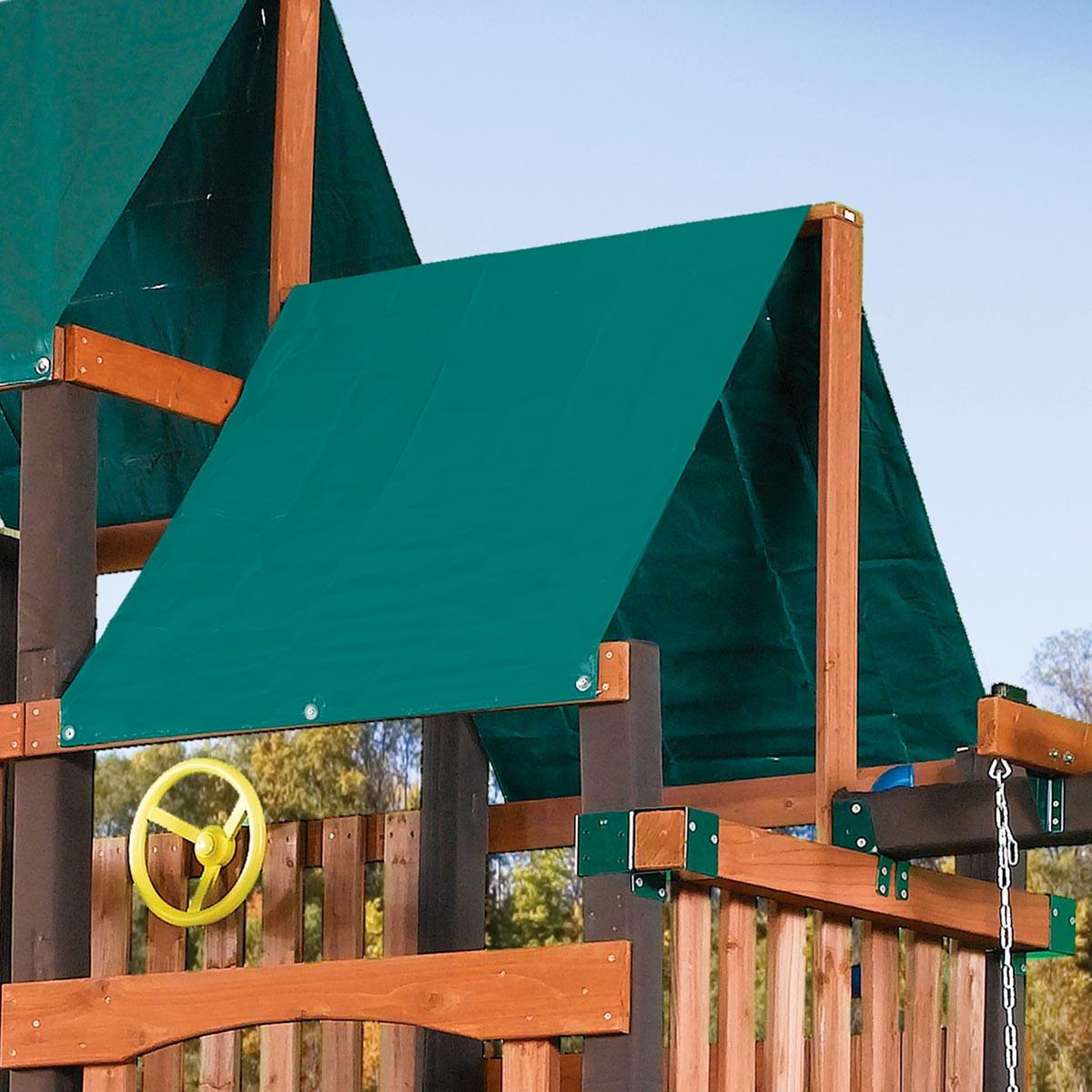 Extra Duty Canopy Roof Tarp Swingsetmall Com