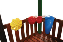 Outdoor Rhythm Band Music Kit for Swing Set