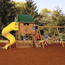 Great Escape Silver Swing Set