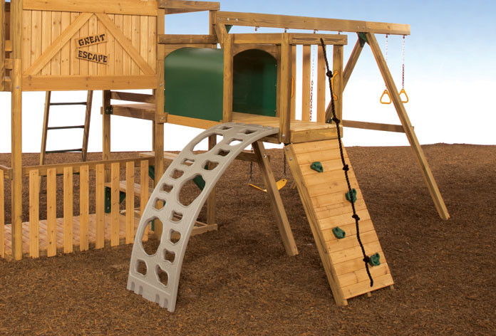 Add a climber to your Adventure Tunnel deck