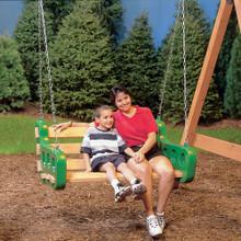 Contoured Leisure Bench Swing