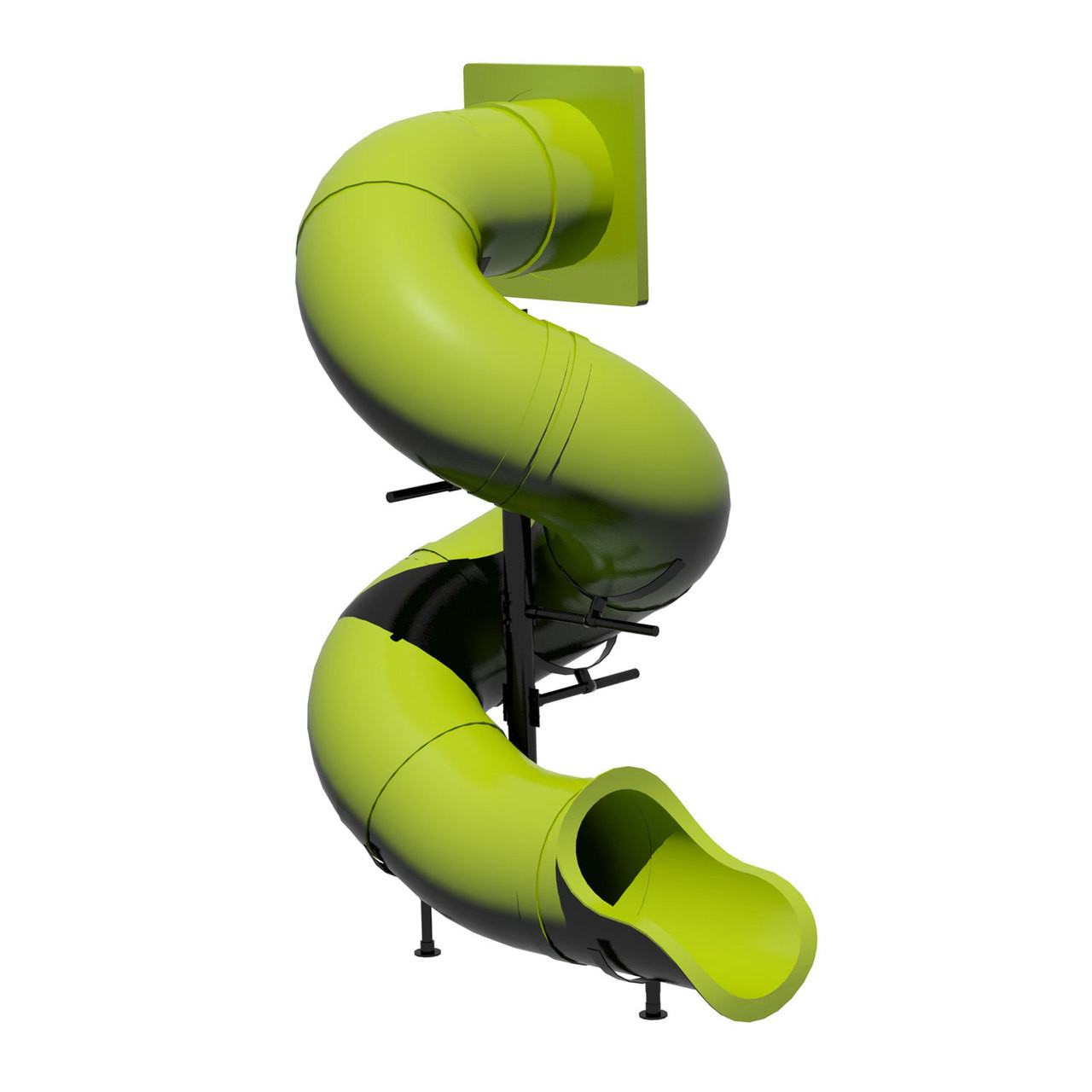 9 Spiral Tube Slide Swingsetmall Com