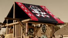 Pirate Dog Playset Roof Tarp